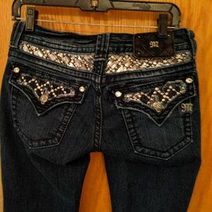 Miss me boot cut women's jean